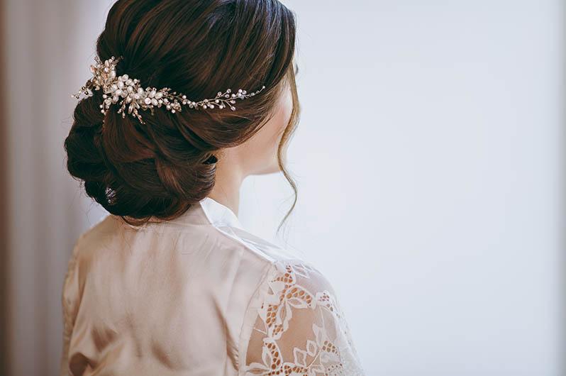 Ellia Coiffure Bridal Styling